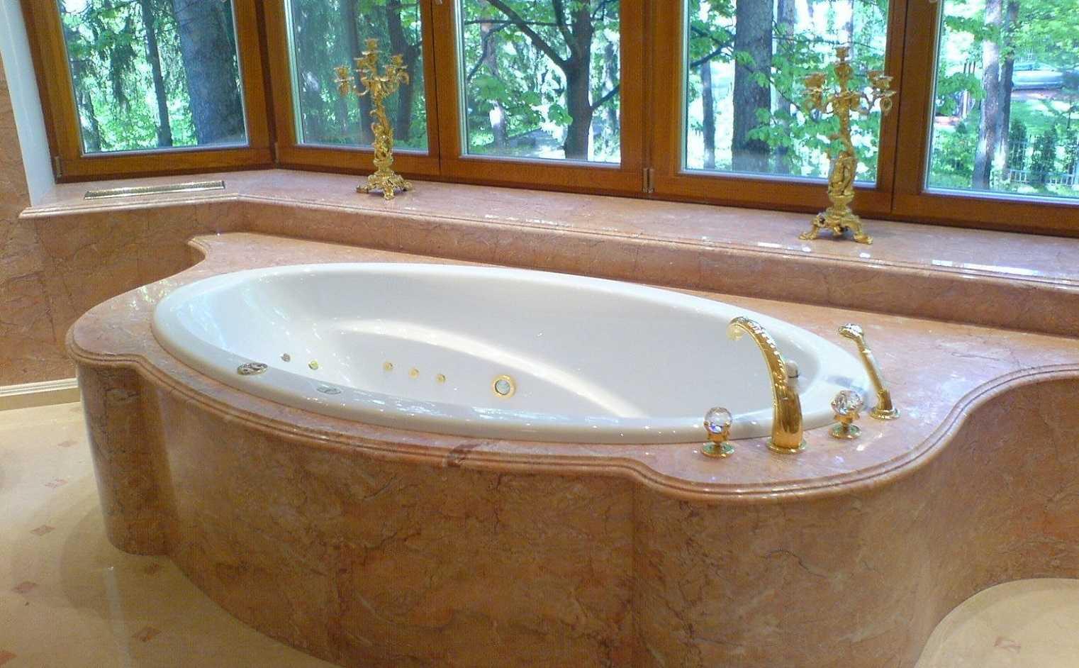 искусственный камень акриловый камень ванна
